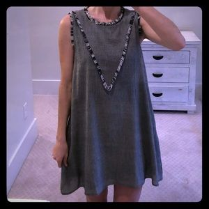 NWOT black swing dress